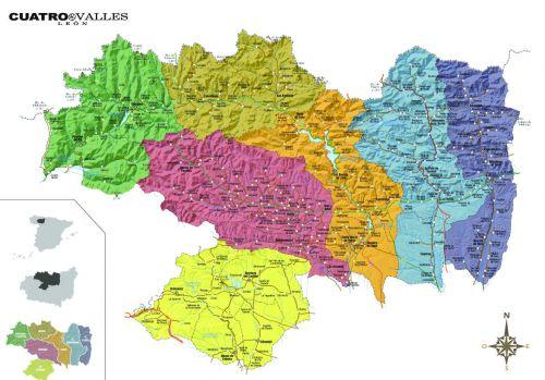 Mapa de Cuatro Vallessin