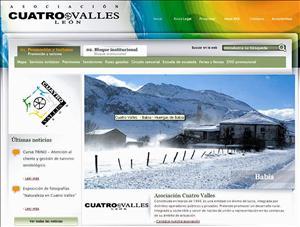 portal web cuatro valles