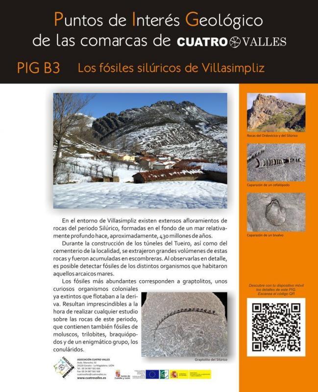 Los fósiles silúricos de Villasimpliz