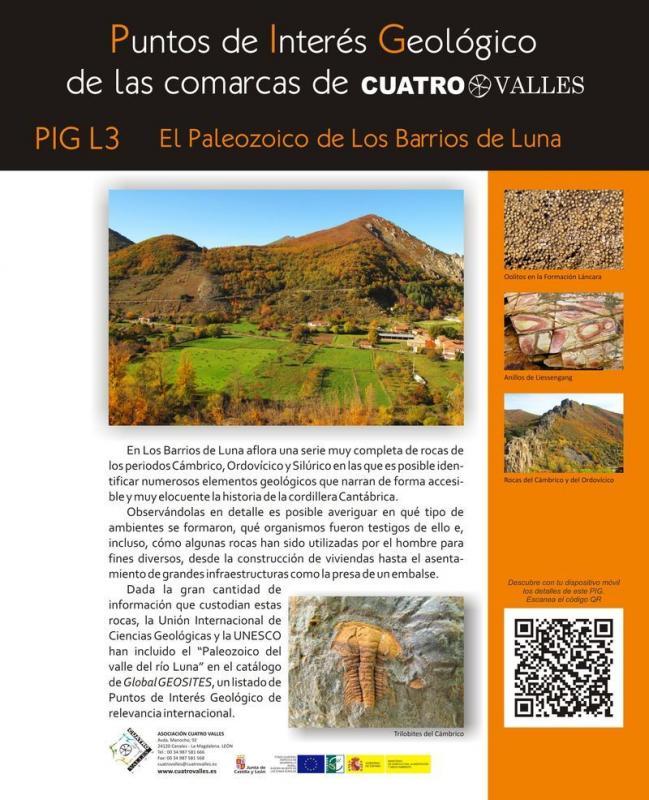 El Paleozoico de Los Barrios de Luna