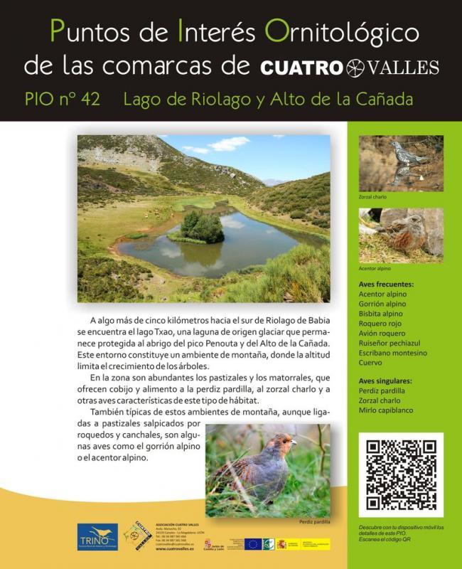Lago de Riolago y Alto de la Cañada