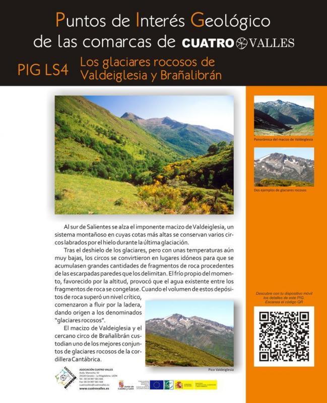 Los glaciares rocosos de Valdeiglesia y Brañalibrán