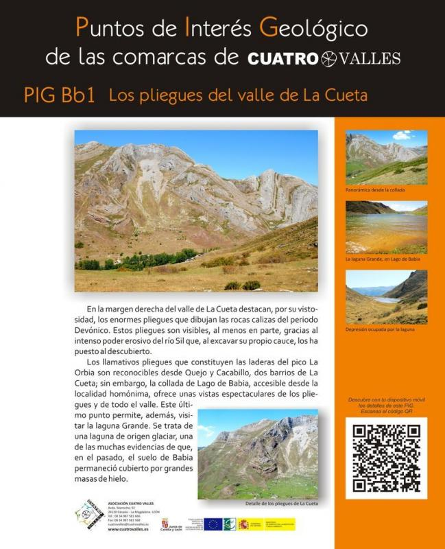 Los pliegues del valle de La Cueta