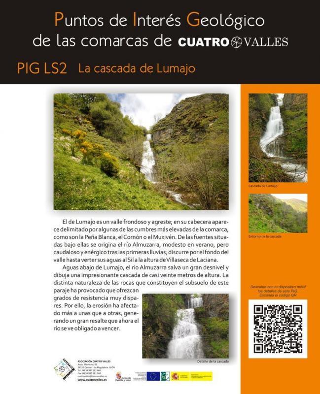 La cascada de Lumajo